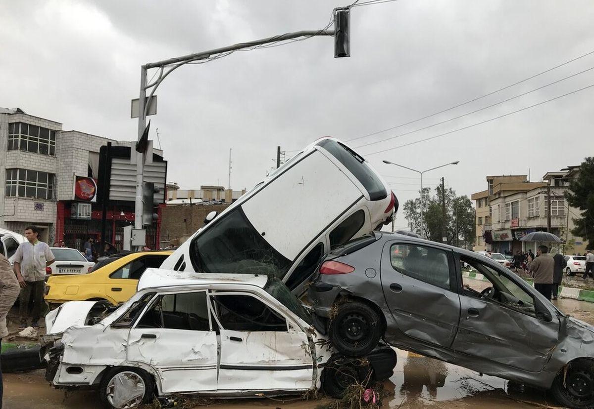 علت مرگ جان باختگان سیل شیراز اعلام شد