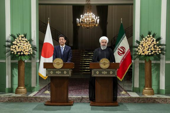 روحانی: جنگ اقتصادی آمریکا علیه ایران ریشه تنشها است/ شینزو آبه: درباره کاهش تنشها گفتوگو کردیم