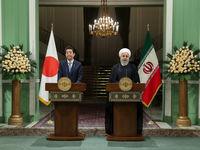کنفرانس مطبوعاتی مشترک رئیسجمهور با نخستوزیر ژاپن +تصاویر