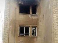 آتشسوزی در برج پرند