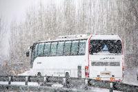 کدام جادهها برفی و بارانی است؟