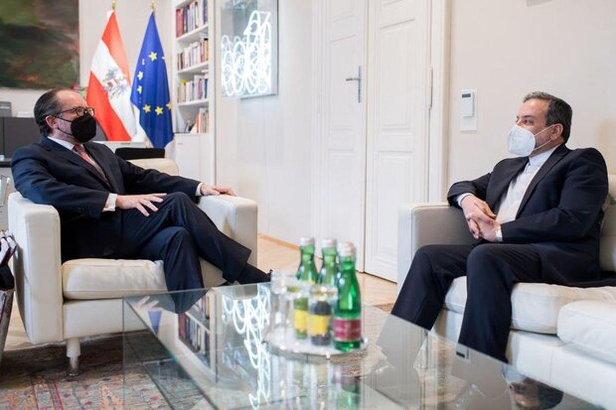 دیدار عراقچی با وزیر امور خارجه اتریش