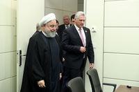 روحانی در دیدار رئیس جمهور کوبا +تصاویر