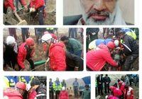 پیرمرد تربت جامی سه روز را در چاه گذراند +عکس