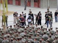 پایگاههای نظامی در داخل آمریکا هم آمادهباش هستند