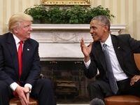 واکنش ترامپ به سخنرانی حمایتی اوباما از بایدن