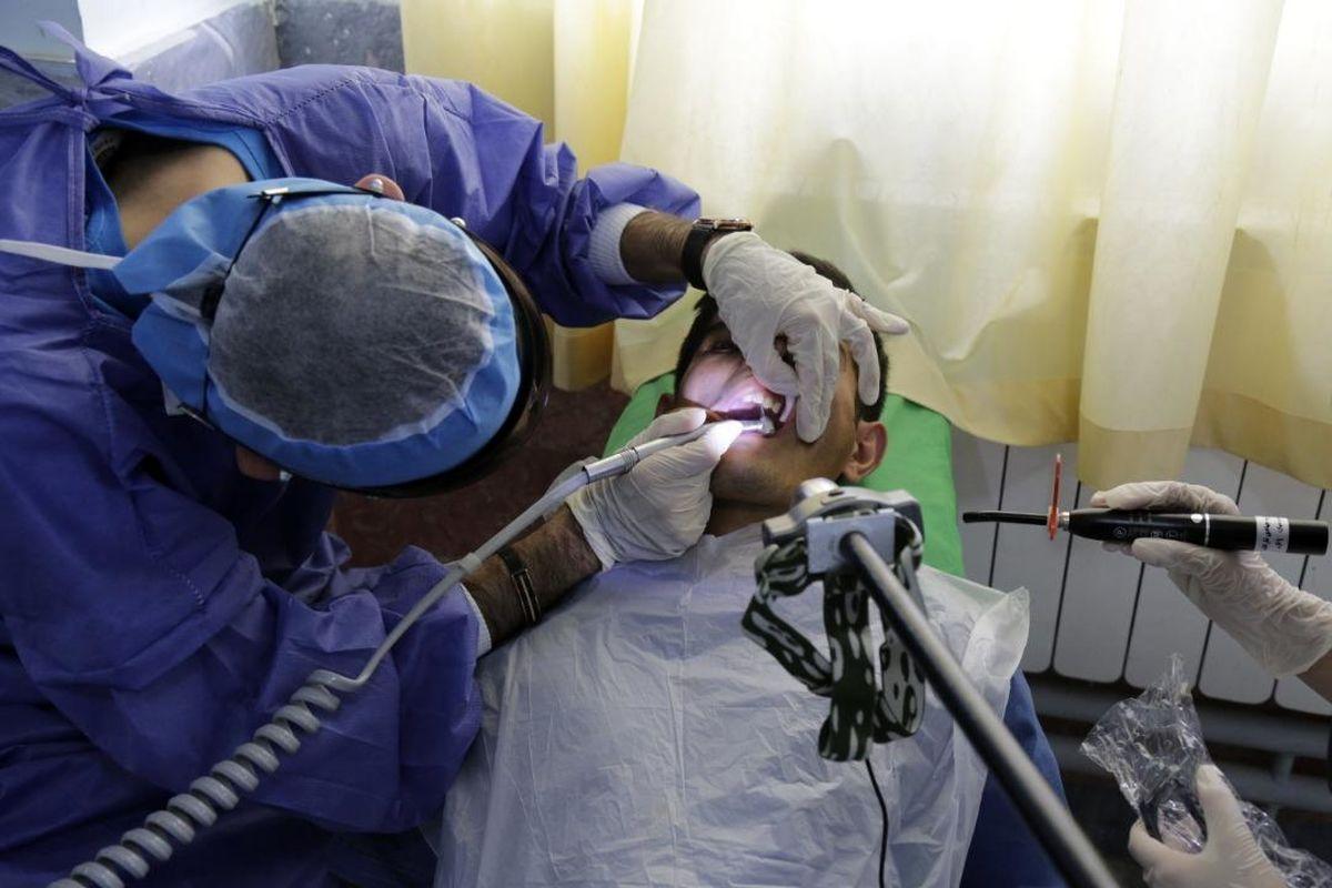 خدمات رسانی ۴۰پزشک اردوی جهادی شرکت مس در شهرستان هریس
