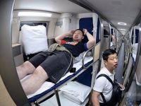 قطار سریعالسیر مخصوص خوابآلودها +تصاویر