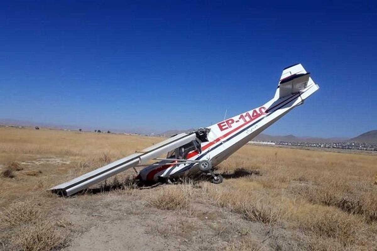 دو کشته در سقوط هواپیمای آموزشی در اراک