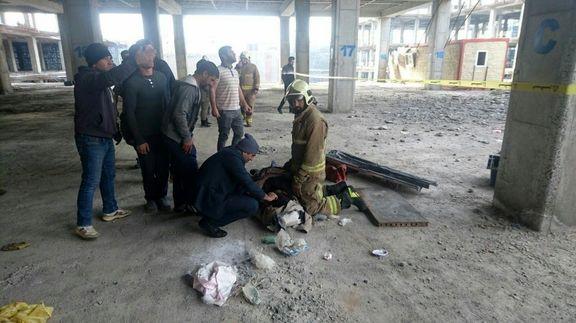 سقوط تاورکرین در جاده مخصوص کرج +تصاویر