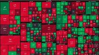 نقشه بورس امروز بر اساس ارزش معاملات/ شاخص کل به یک میلیون و ۳۰۰رسید