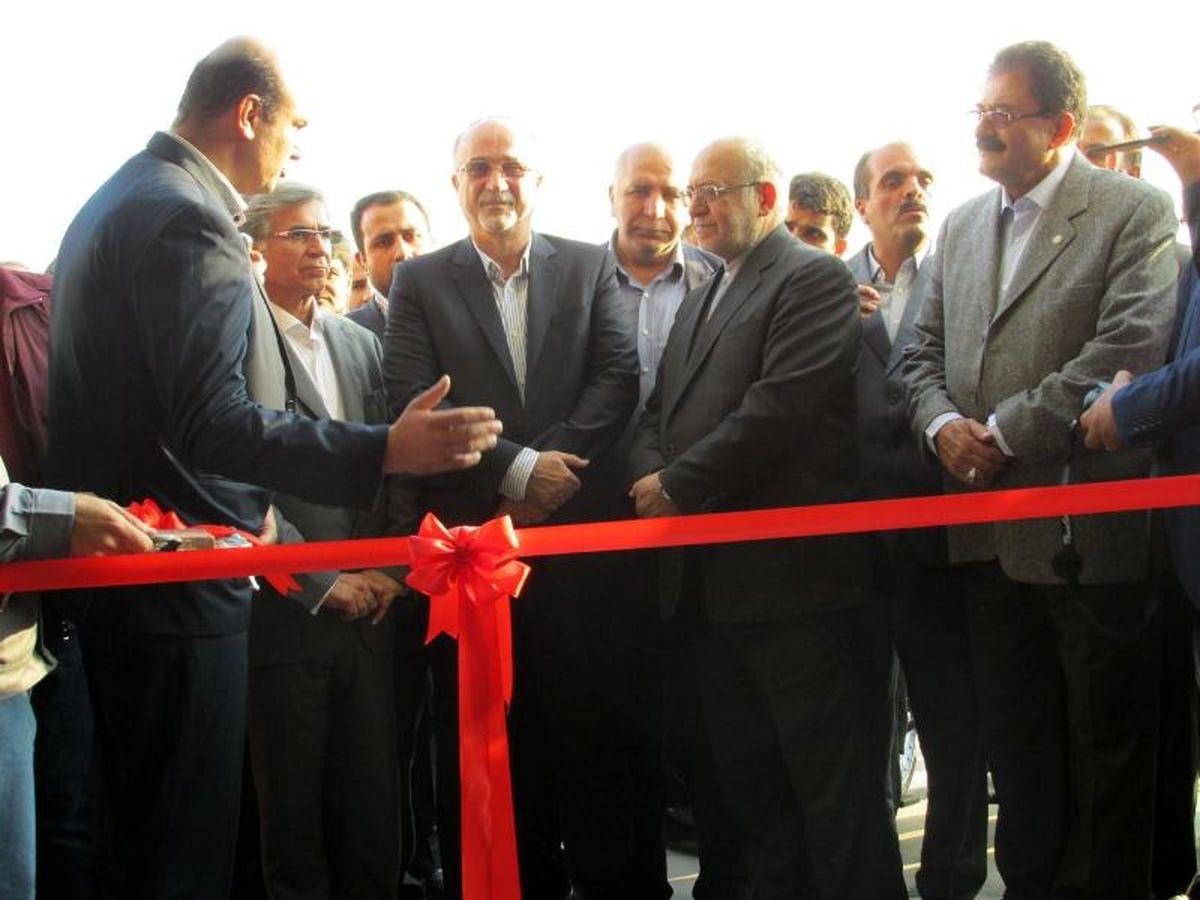 """افتتاح کارخانه """"گیل راد شمال"""" با مشارکت بانک تجارت"""
