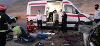 ۵کشته و زخمی در تصادف جادهای