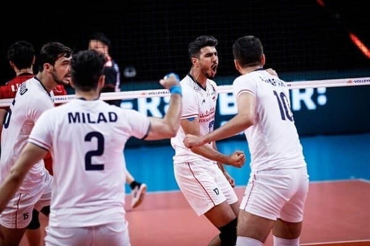 پیروزی تیم ملی والیبال در گام نخست مقابل هنگکنگ