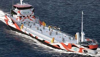 ساخت اولین کشتی نفتکش بدون آلایندگی