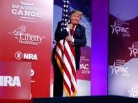 ژستهای جالب ترامپ در سخنرانی اخیرش +عکس