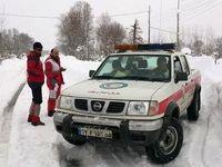 برف و کولاک و سیل و آبگرفتگی در ۸ استان کشور