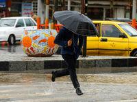 بارش باران در تهران از عصر امروز