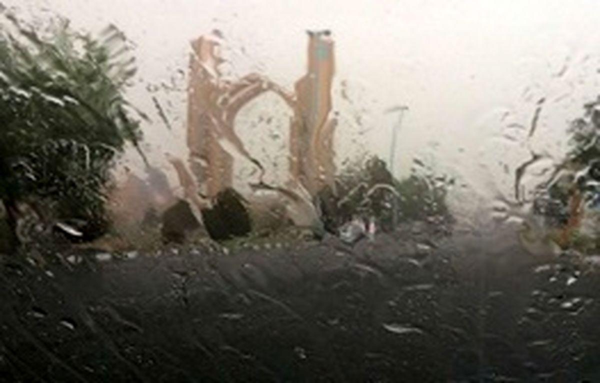 رگبار پراکنده باران در ۶ استان