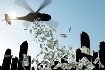 اتحادیه اروپا به دنبال توزیع پول با هلیکوپتر است!