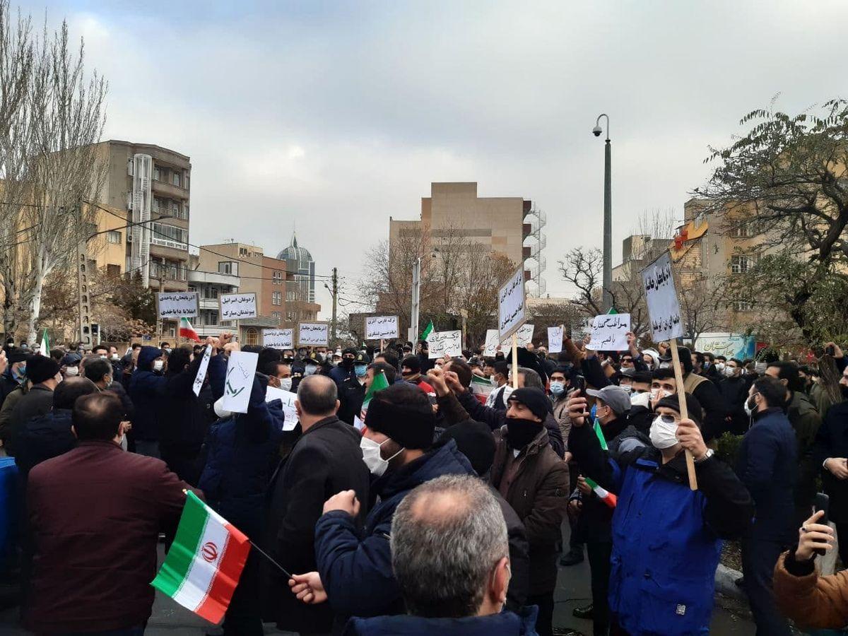فوری/ تجمع مردم تبریز علیه اردوغان +تصاویر