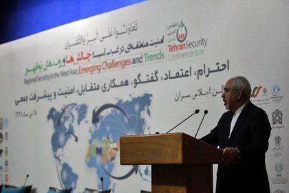 دومین کنفرانس امنیتی تهران با حضور ظریف +عکس