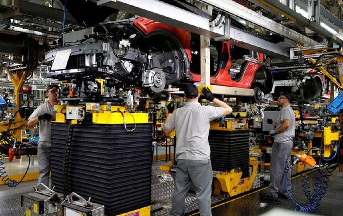 پاندمی کرونا میزان تولید خودروی انگلستان را کم کرد
