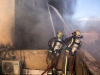 انفجار و آتشسوزی ساختمانمسکونی در همدان با ۸ کشته