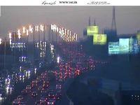ترافیک سنگین در آزادراه تهران-کرج +عکس