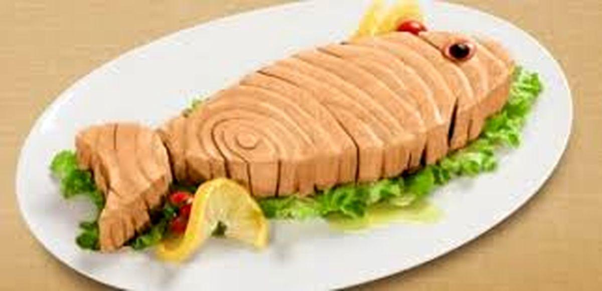 کنسرو ماهی بدون تن