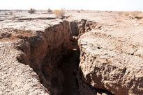 فرونشست زمین در دشت اراک زنگ خطر است