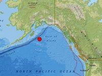 وقوع زمینلرزه شدید در آلاسکا