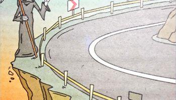 بفرمایید دربست اون دنیا! (کاریکاتور)