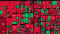 نمای پایانی بورس امروز/ خونبازی در بازار