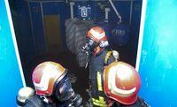 آتش سوزی در بیمارستان مادر +عکس