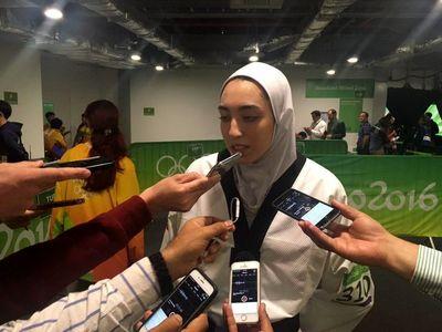 واکنش کیمیا علیزاده پس از کسب مدال المپیک