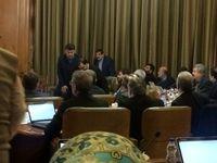 درگیری لفظی در جلسه امروز شورای شهر تهران