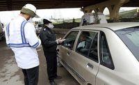 جریمه ۶هزار خودرو به دلیل عدم استفاده از ماسک
