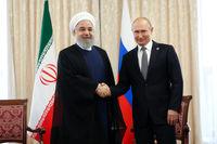 دیدار رئیس جمهور کشورمان با همتای روس خود +فیلم