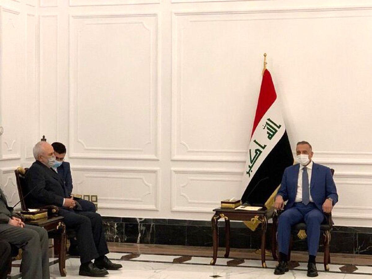 دیدار ظریف با نخست وزیر عراق