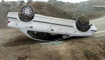 واژگونی خودرو 1کشته بر جا گذاشت