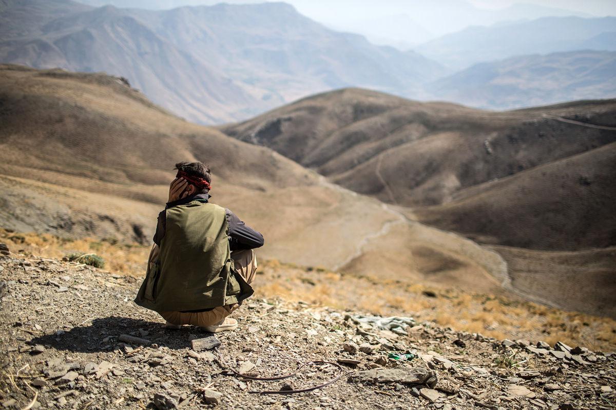 مسیر قاچاق خطرناک در مرز ایران و عراق