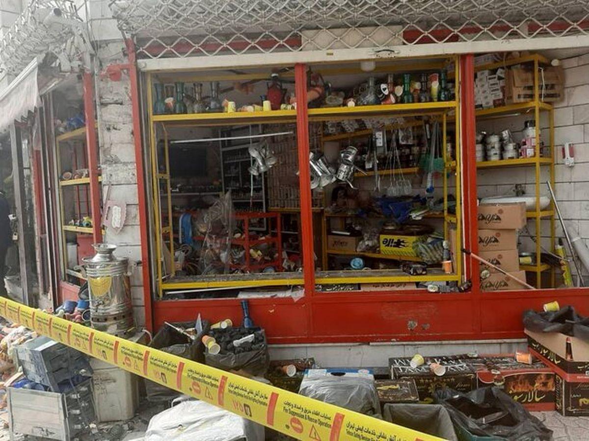 علت وقوع انفجار نارنجک در یک مغازه در نبرد جنوبی +عکس