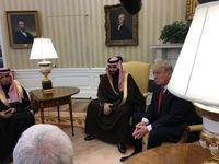 ترامپ در کاخ سفید با جانشین ولیعهد عربستان دیدار کرد
