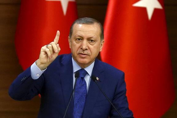 اردوغان شبه نظامیان کرد حاضر در سوریه را تهدید کرد