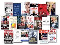 دهنکجی بازار کتاب به ترامپ