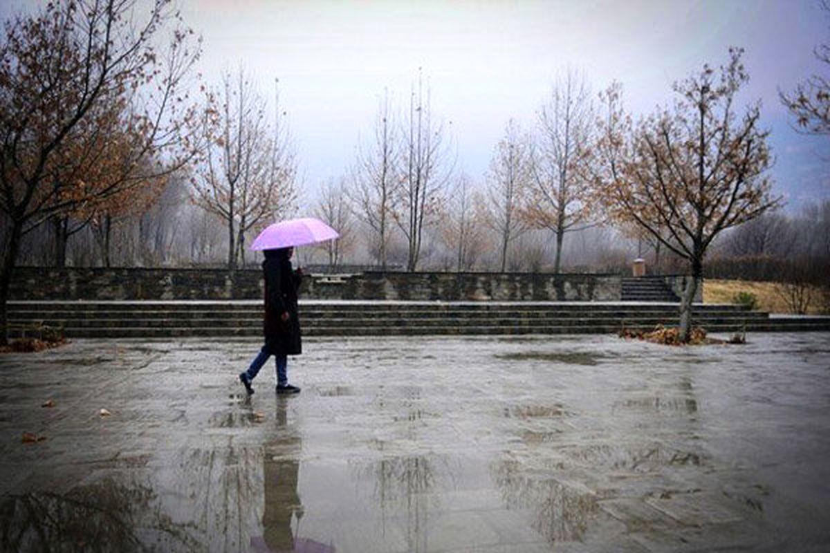 بارندگی و وزش باد شدید در بیشتر مناطق کشور