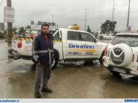 خدمات و تسهیلات ویژه گروه بهمن به خودروهای آسیب دیده در اثر سیل در استان گلستان و شهر شیراز