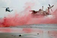 تاخت خاکی، دریای تفنگداران نیروی دریایی ارتش +تصاویر