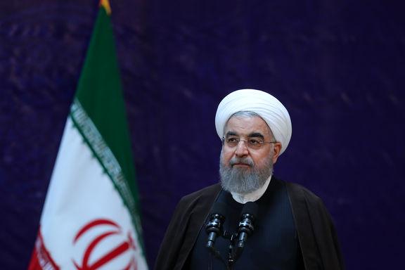 روحانی: پرتاب موشک سپاه کاملا بجا، درست و ضروری بود +فیلم